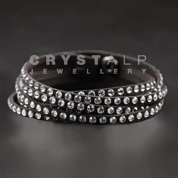 crystalp-nahkarannekoru-musta