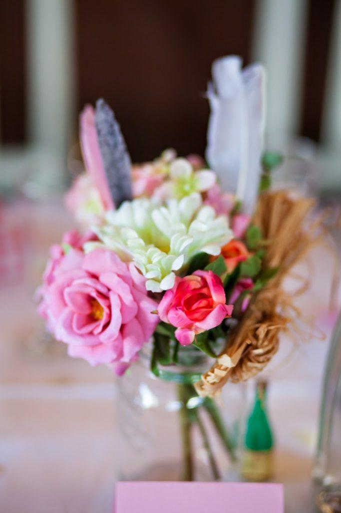 kukka-asetelma-pinkki