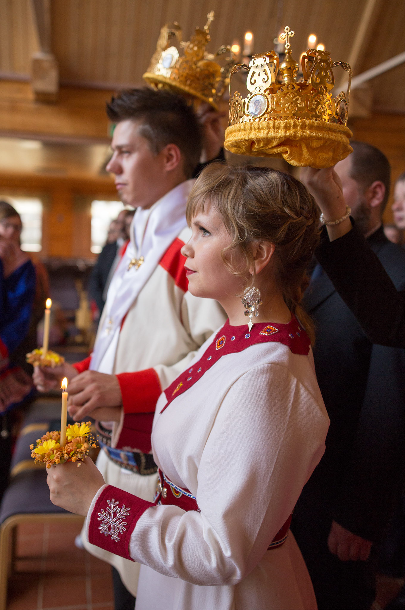 Anna and Markku's Sami wedding ceremony
