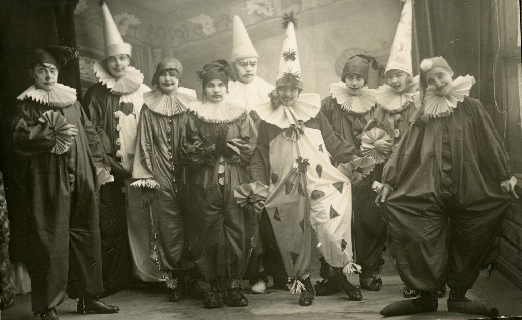 nurmeksen-yhteiskoululaisia-1920-luvulla